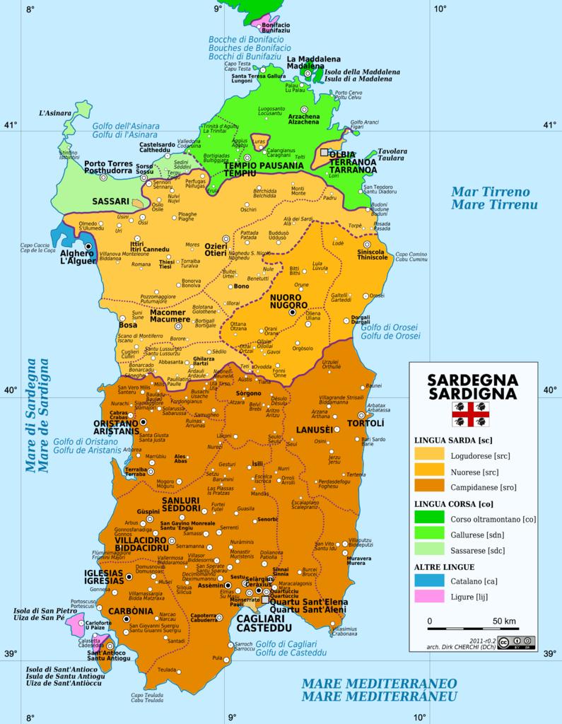 Cartina Sardegna Settentrionale.Chiaramonti Il Portale Delle Vostre Idee Sardegna